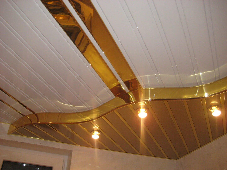 Двухуровневый потолок из панелей пвх своими руками